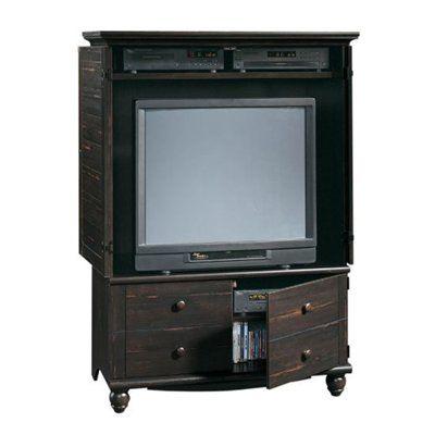 Sauder 138087 Harbor View Entertainment Armoire - 10 Best TV Cabinets Images On Pinterest Tv Cabinets, Corner