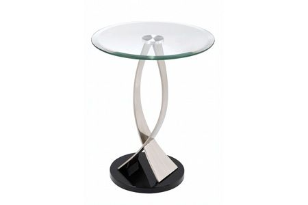 Tiffany Round Accent Table