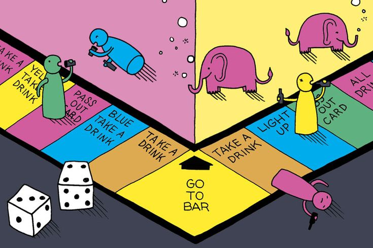 House Rules: The 1960s Drinking Game Sensation, Pass-Out: In the '60s and '70s, many adult gatherings came with the presence of one ubiquitous board game: Pass-Out, essentially Monopoly with booze. Drew Lazor on how the game came to be, and what it says about our society's very different stances on drinking then and now.