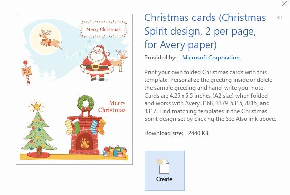 Unique Find Free Printable Microsoft Fice Templates For Folded Christmas Cards Label Templates Christmas Prints