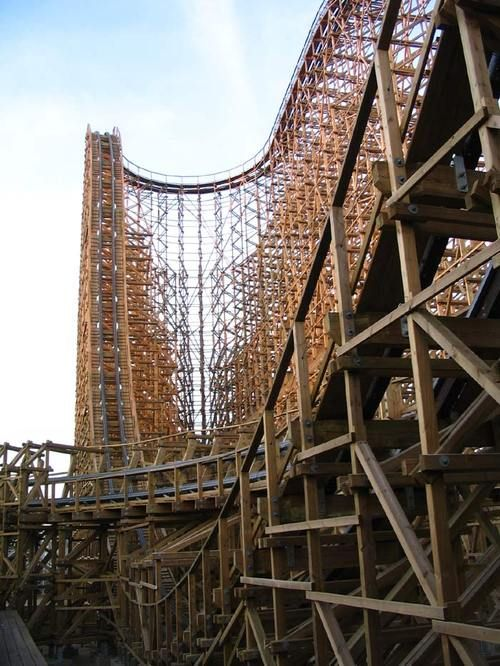 my favorite roller coaster of all time! EL TORO! Six flags great adventure!
