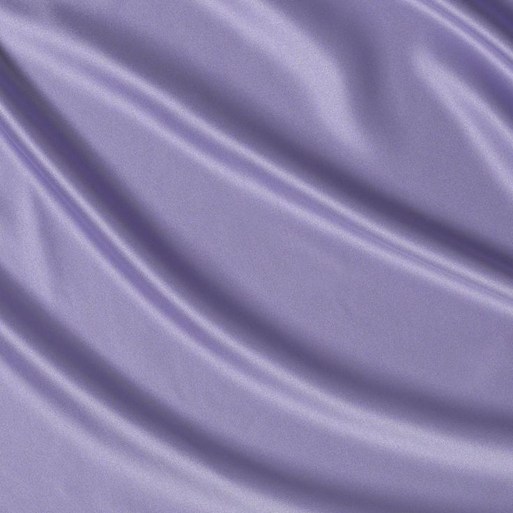 Misty Lilac Satin Linen