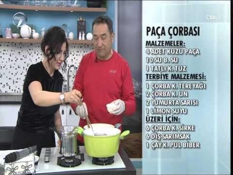 Paça Çorbası Tarifi - YouTube