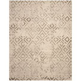 Loomed rug with a weathered diamond motif. Made in Turkey.  Product: RugConstruction Material: PolypropyleneColor: IvoryFeatures:  Made in TurkeyPower-loomed Note: Please be aware that actual colors may vary from those shown on your screen. Accent rugs may also not show the entire pattern that the corresponding area rugs have.Cleaning and Care: Professional cleaning recommended