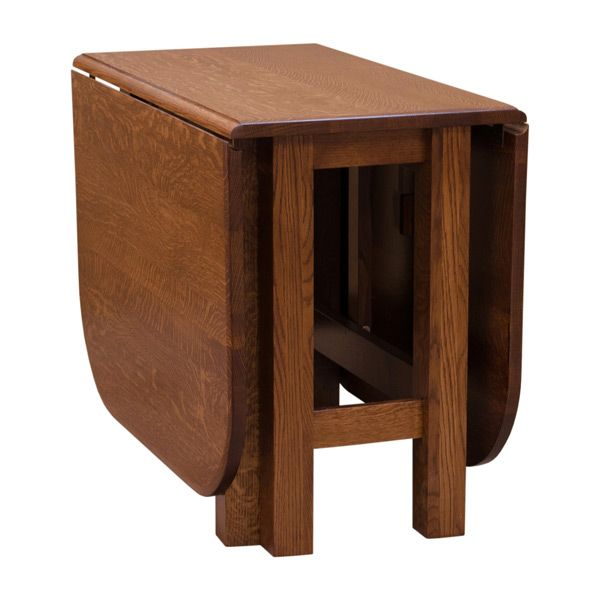 This Gate leg table is a multipurpose unit that lets you have the flexibility to change the size depending on the activity in mind. Moreover, this unit is made out of solid wood and you have options of different finishes to match the surrounding decor. The folding mechanism is very accessible and sturdy built. And lastly, this is built by highly skilled craftsman with years of experience and dedication.