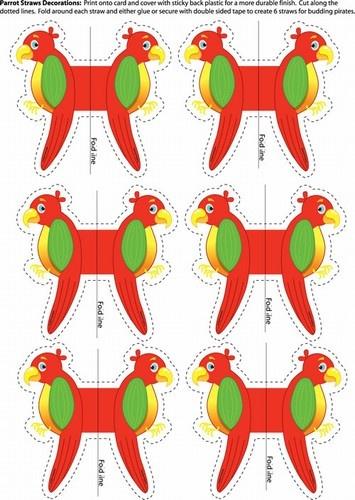 parrot ~ decorations