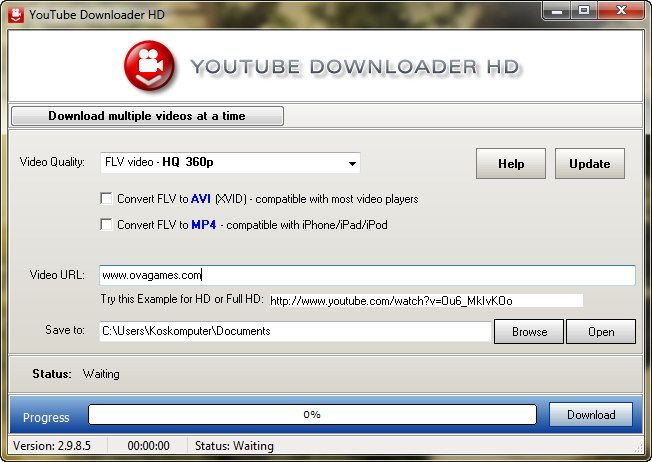youtube software free  full version