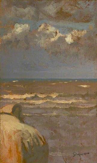 'Seascape' by Walter Richard Sickert, 1887