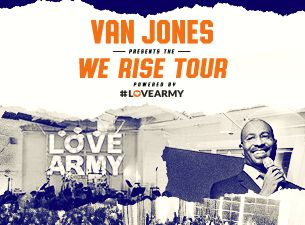 Van Jones WE RISE TOUR brings an array of artists, athletes, thought leaders and local leaders to The Fillmore Philadelphia on Thursday August 3! Van Jones, renowned activist, CNN commentator & New York Times bestselling author will headline this event!