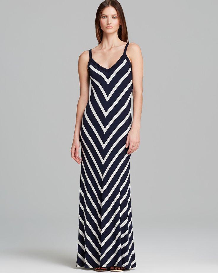 Karen kane zebra maxi dress