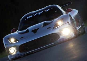 A closer look at the 2013 SRT Viper GTS-R race car