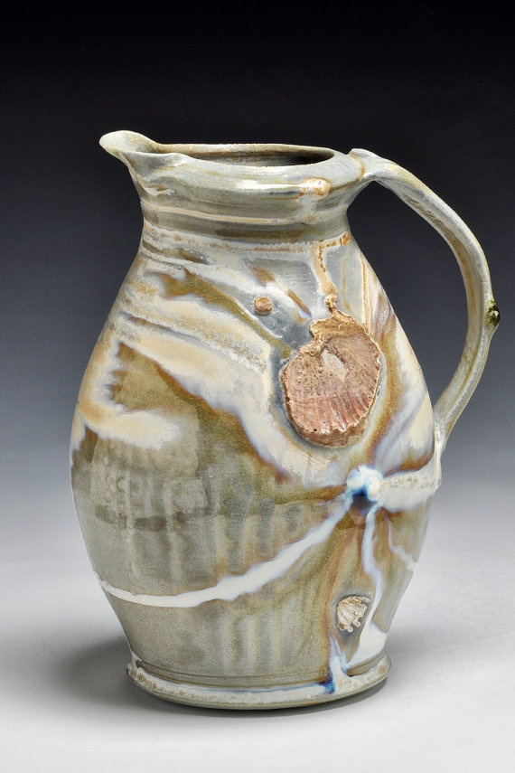 Woodfired SideFired Pitcher, Dick Lehman, $115.00
