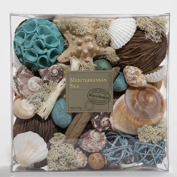 Cost Plus World Market Mediterranean Sea Potpourri (20 AUD) ❤ liked on Polyvore featuring home, home decor, home fragrance, home scents and cost plus world market