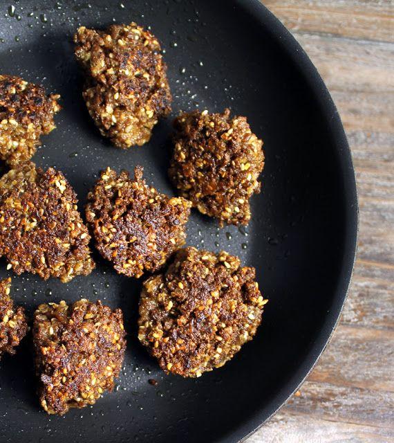 Vegan Kjøttboller Tvp Soyaprotein til f.eks. pizza. 06.12.15