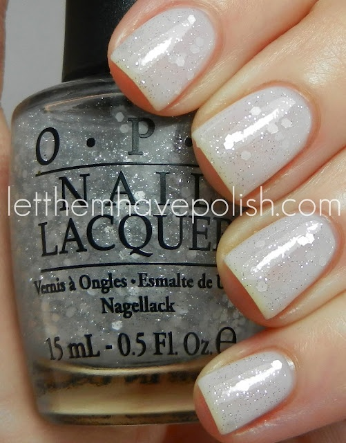 opi pirouette my whistle + don't touch my tutu