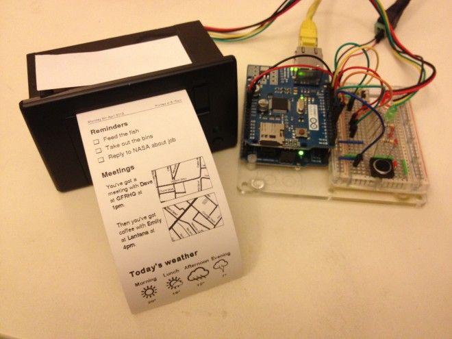 Printer with Arduino #print #arduino