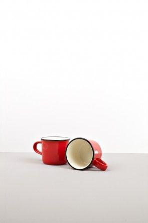 Red small mug