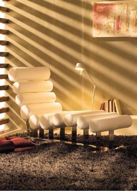 Descansa en esta cómoda y moderna butaca