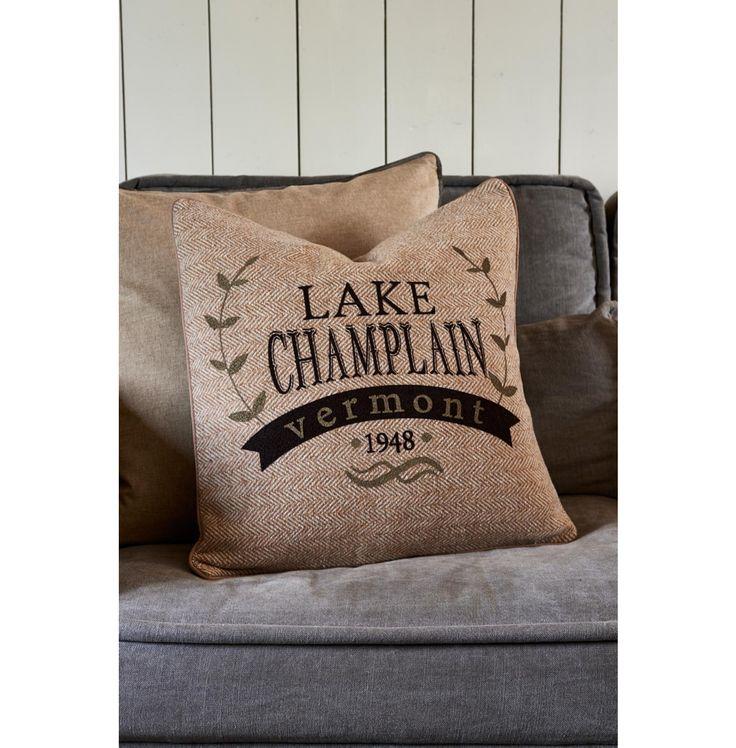 Lake Champlain Herringbone Pillow Cover 50x50 - Autumn 2016 | Rivièra Maison