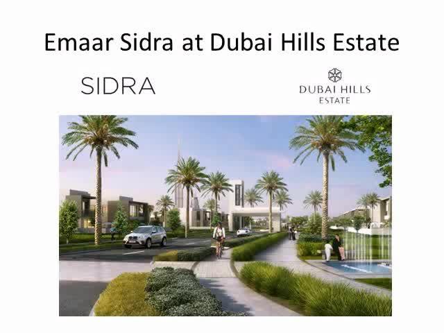 Emaar Sidra at Dubai Hills Estate - Exclusive Offers and Confirmed Bookings - http://sendvid.com/jnucb35z