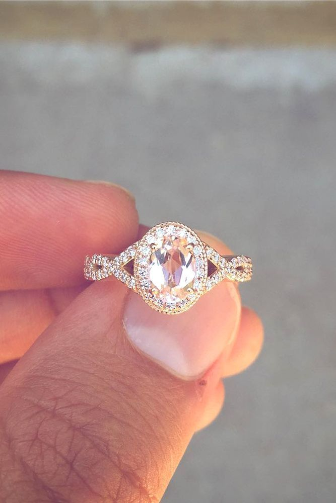 Trending  Insanely Good Colored Engagement Rings