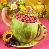 Teapot watermelon