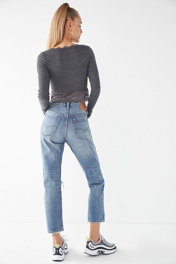 583cd2a00ecbf3 Levi's 501 Original Cropped Jean - Vintage Find in 2019 | Denim ...