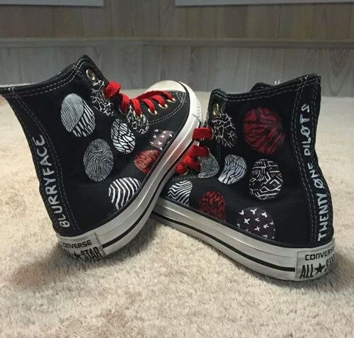 || twenty one pilots || converse shoes || blurryface ||
