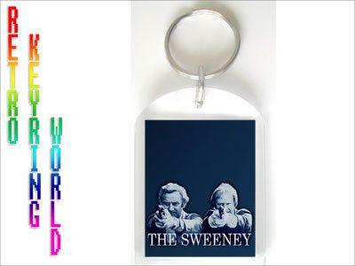 The Sweeney retro UK TV Keyring free UK P - Retro TV keyring / keychain. ONLY  £1.99 Low cost Worldwide shipping