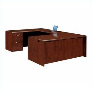 DMi Summit Executive Left U-Shaped Desk (Assembled) by DMi Furniture. $2783.95. The Summit series are all about choices. Summit features a modified reeded edge with split nickel hardware or a radius coped edge with curved hardware. The basic pieces are offered either flat packed or assembled to suit your budget and needs.Constructed of wood, cherry veneers and other wood productsCherry finishCamlock construction with reinforcement connectors for maximum stabilityWork sur...