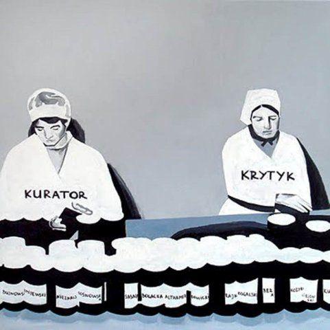 The Krasnals: Fabryka marzeń; 2008/2011, canvas print, 110 x 110 cm