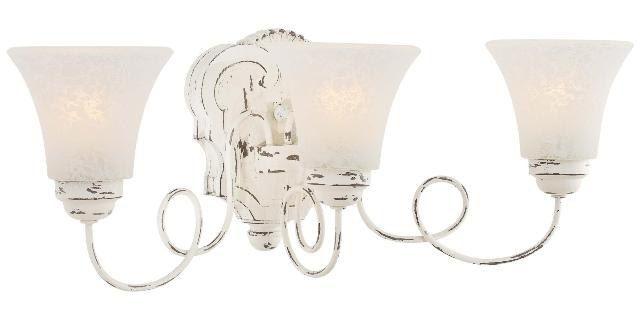 Shabby Chic Bathroom Lighting Ratings Reviews Prices In 2020 Light Fixtures Bathroom Vanity Shabby Chic Bathroom French Country Bathroom Vanity