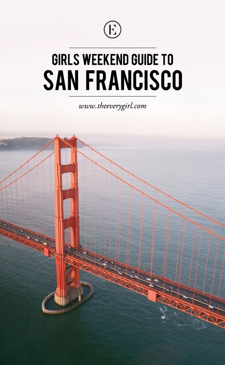 The Everygirl's Weekend City Guide to San Francisco, California #theeverygirl
