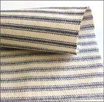Navy Blue Stripe Ticking (per 1/4 metre)