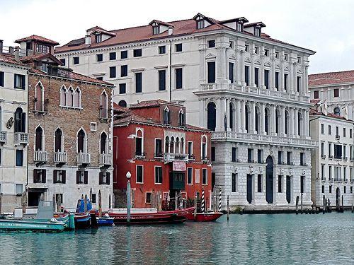 Ca' Favretto e Palazzo Corner della Regina - Canal Grande, Venezia