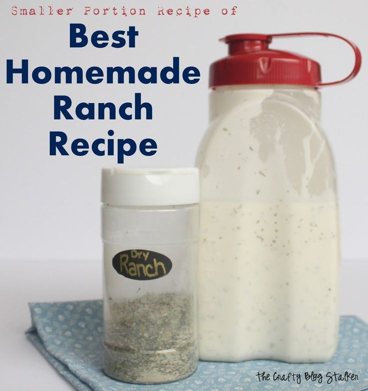 online shop schweiz health Smaller Portion Best Homemade Ranch Recipe