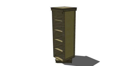 Free DIY Furniture Plans to Build a PB Teen Inspired Display-It Storage Mirror - www.thedesignconfidential.com