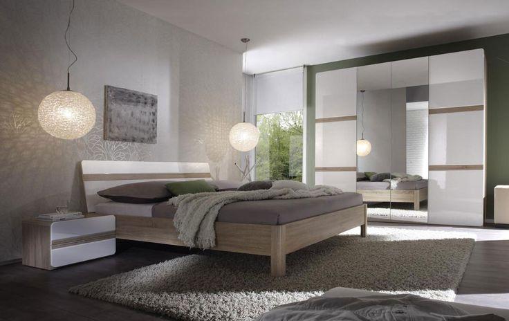 Bedroom Selene is exceptional connecting the breaststroke from modern. Certainly you will like juxtaposing the light colour with a darker tone of wood. Meble sypialniane Selene to wyjątkowe połączenie stylu klasycznego z nowoczesnym.  Zestawienie jasnej barwy z ciemnym odcieniem drewna z pewnością przypadnie Państwu do gustu. #bed #bedroom #whitefuniture #design #helvetia #sale #mirjan24