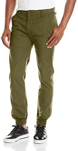 $42, Chino Jogger Pant by Levi's. Sold by Amazon.com. Click for more info: http://lookastic.com/men/shop_items/143444/redirect