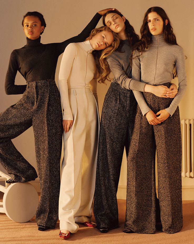 visual optimism; fashion editorials, shows, campaigns & more!: elisabeth faber, larissa marchiori, poppy okotcha and hayett mccarthy by lena c. emery for wsj september 2015