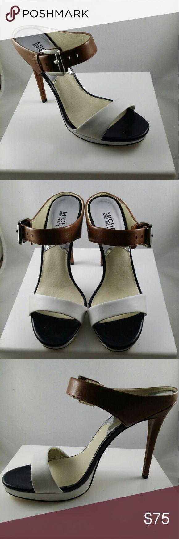 "MICHAEL KORS BEVERLY HEELS New in box, Michael Kors Beverly heels. 4.5"" heels with .5""platform Michael Kors Shoes Heels"