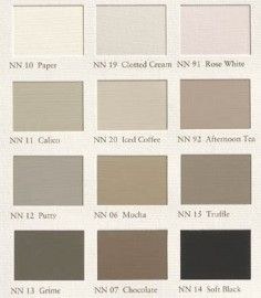 Painting The Past, New Neutrals