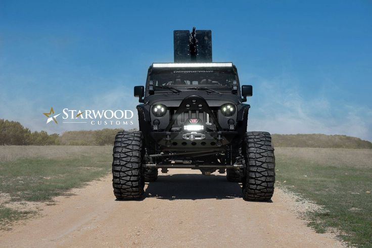 When the weekend calls for a #50Cal #FMJ. #StarwoodCustoms  #starwoodmotors #Jeep #JeepWrangler #CustomJeep #JeepMods #JeepLife