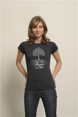 Me to We Style plants a tree on your behalf for every tee you purchase and with the Plant A Tree tee, you can let the world know how much you love our planet. Made from 50% organic cotton and 50% recycled polyester, this soft tee is the perfect for anyone who wants eco-friendly clothing without sacrificing style or quality.