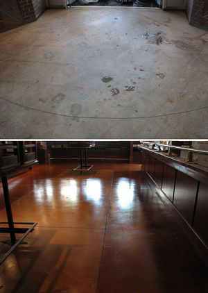 13 best water based concrete stain color charts images on for Garage ad stains