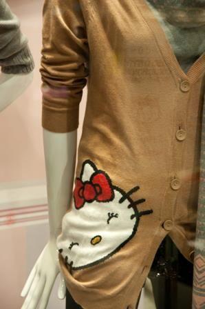 Hello Kitty cardigan, I wouldn't wear it.But hey..it's hk