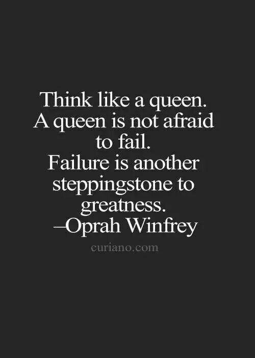 Failure as a Steppingstone