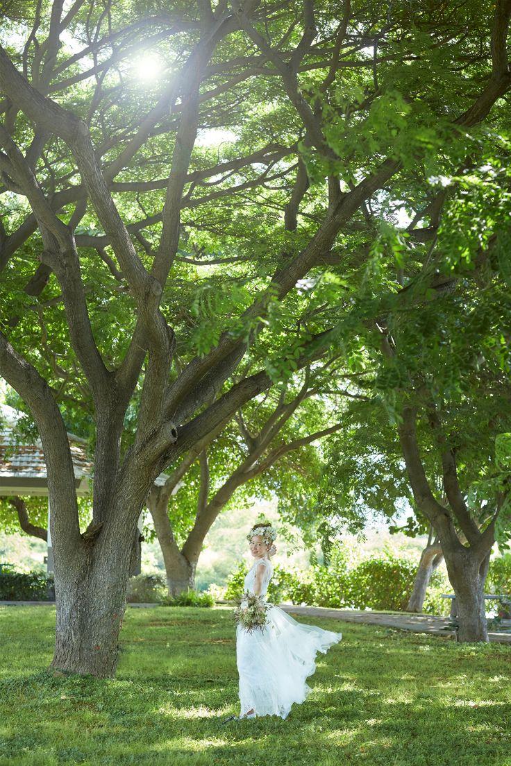 ハナラニ・ガーデン~木漏れ日ウエディング|南国の魅力たっぷりのガーデン|ハワイウエディング 【ベストブライダル】