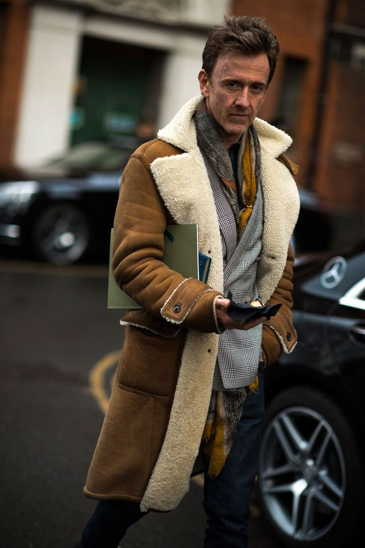 162 best Men in Fleecy Furry jackets & Coats images on Pinterest ...