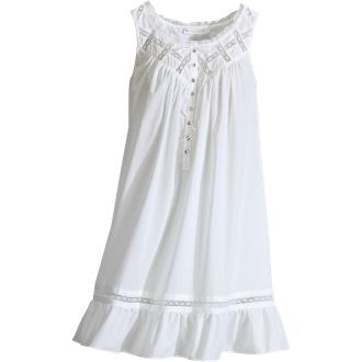 Eileen West Cotton nightgown